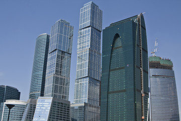 Moscow, modern buildings