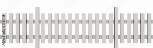 3d holzzaun wei freigestellt 03 stockfotos und lizenzfreie bilder auf bild. Black Bedroom Furniture Sets. Home Design Ideas