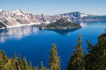 Canvas Prints Lake Crater Lake