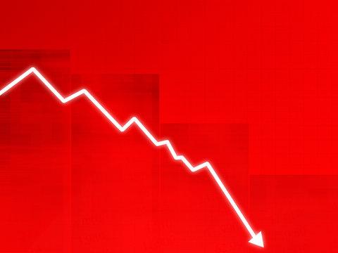 cours de la bourse - crise - chute - échec