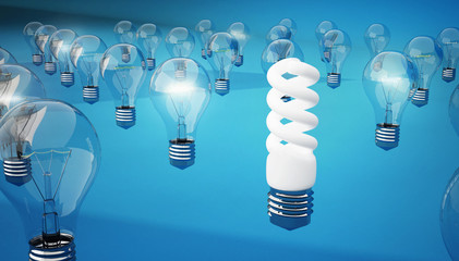 энергосберегающая лампа надежнее и долговечнее