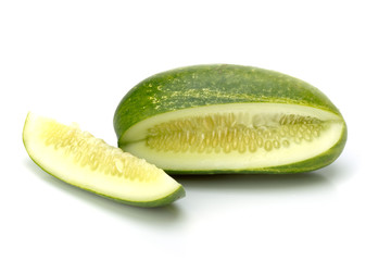Cucumber, isolated on white 2