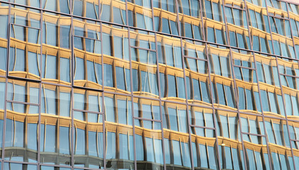 bürogebäude,glasfassade