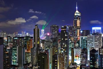 Foto op Aluminium Hong-Kong Hong kong at night