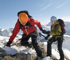 Hilfe am Berg