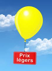 "Ballon ""Prix Légers"""