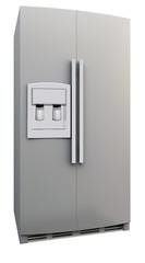 3d frigo bianco