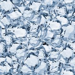 Ice Cubes Seamless Texture Tile from Photo Original