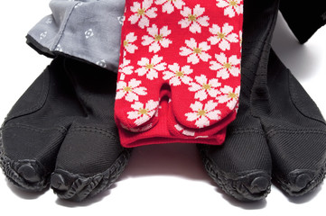 ninja shoes con calcetines