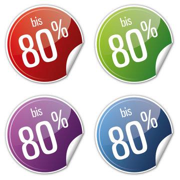 Button Rabatt Set - bis 80% prozent sparen reduziert