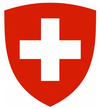 Schweiz Suisse Wappen Flagge Kreuz