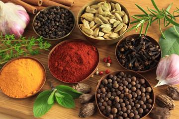 Photo sur Aluminium Spices ang herbs