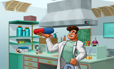 laboratory and medic