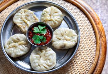 Vegetarian Tibetan momo