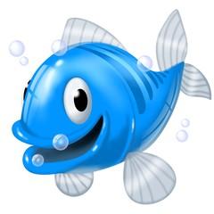 Fototapete - pesce blu