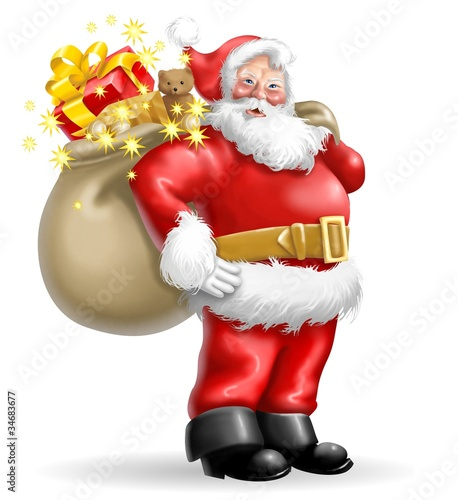 Immagini Babbo Natale Con Sacco.Babbo Natale Con Sacco Stock Photo And Royalty Free Images