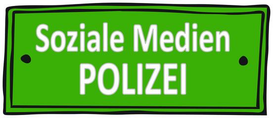 Soziale Medien, Polizeiüberwachung