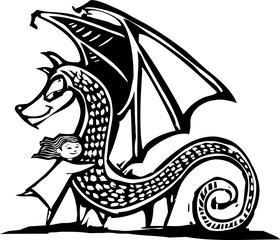 Huggy Dragon