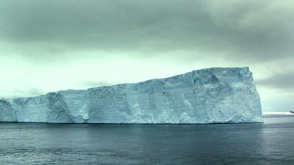 Fototapete - ice shelf in antarctic ocean