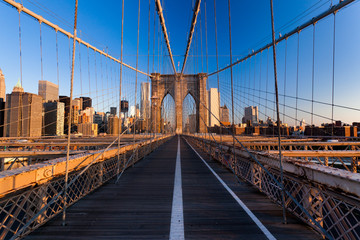 Fotomurales - Pont de Brooklyn New York