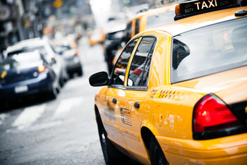 Fotomurales - New York taxi