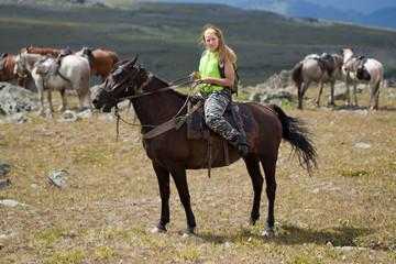 horse ridding