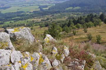 Landschaft in der hessischen Rhön Mittelgebirge