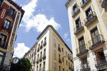 madrid balconies.spain