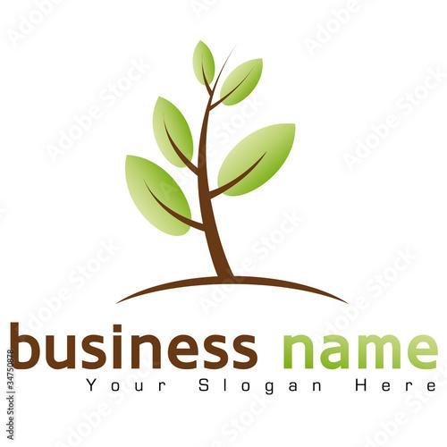 Logo Plante Verte Fichier Vectoriel Libre De Droits Sur