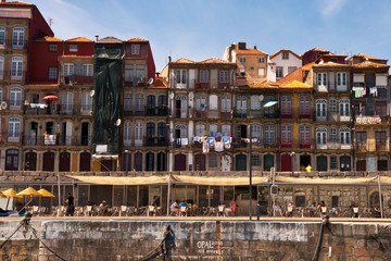 Porto Old Town River View Wall mural