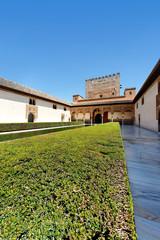 Palast der Nasriden in der Alhambra, Granada, Spanien
