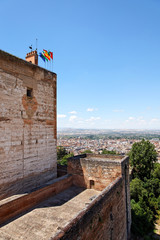 Festung Alcazaba, Alhambra / Granada
