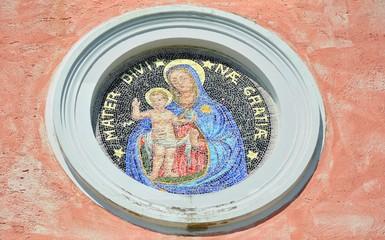 Madonna con Bambino - Mosaico