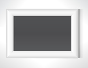 Photo frame on the wall