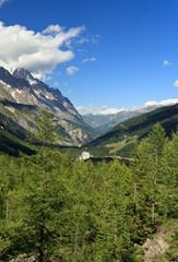 Val Veny . Veny valley, Courmayeur, Italy