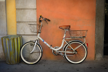 Fotomurales - Italian old-style bicycle