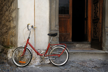 Wall Mural - Italian old-style bicycle