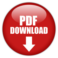 Pdf download vector button, eps10