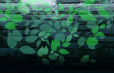 Nature wall painting