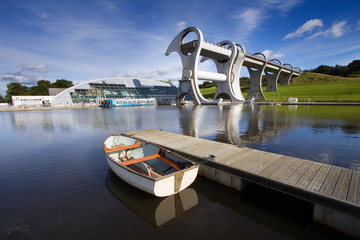 Wall Murals Channel The Falkirk Wheel