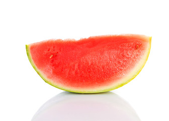 Slice of juicy water melon