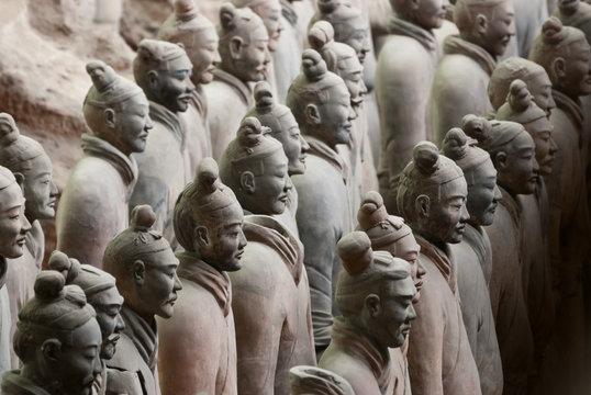 Armée de terre cuite, Chine 16