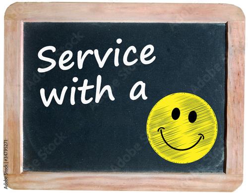 Service with a smile   qaai.info
