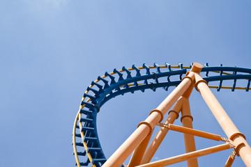 roller coaster sky detail