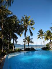 Beautiful resort pool. Hamilton Island