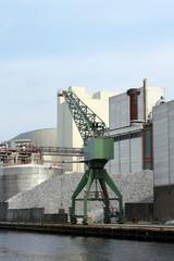 Sugar factory in Hoogkerk in the Netherlands