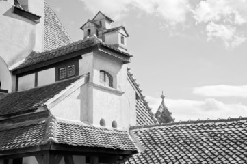 Beautiful architecture at Bran Castle