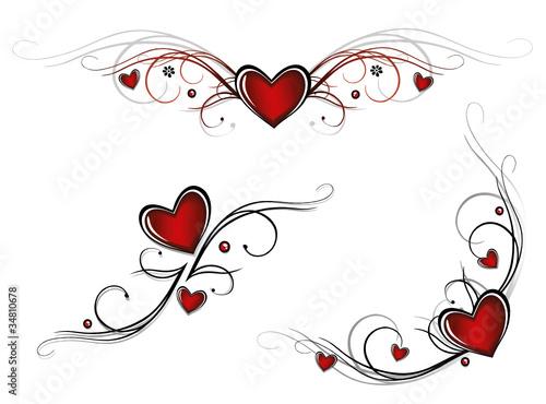 herz liebe love valentinstag vector set stockfotos und lizenzfreie vektoren auf fotolia. Black Bedroom Furniture Sets. Home Design Ideas