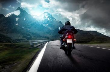 Fototapete - Motorrad