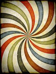 Poster de jardin Psychedelique Vintage background